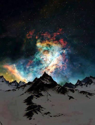 Il cielo a colori, lo spettacolo naturale dell'aurora boreale, Alaska.